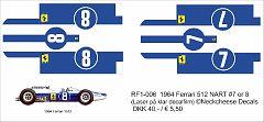 RF1-006 Ferrari 512 F1 NART