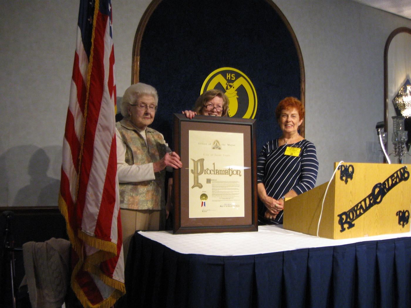 Dee Jay Mueller, Pat Wiseman, Mary Gabel
