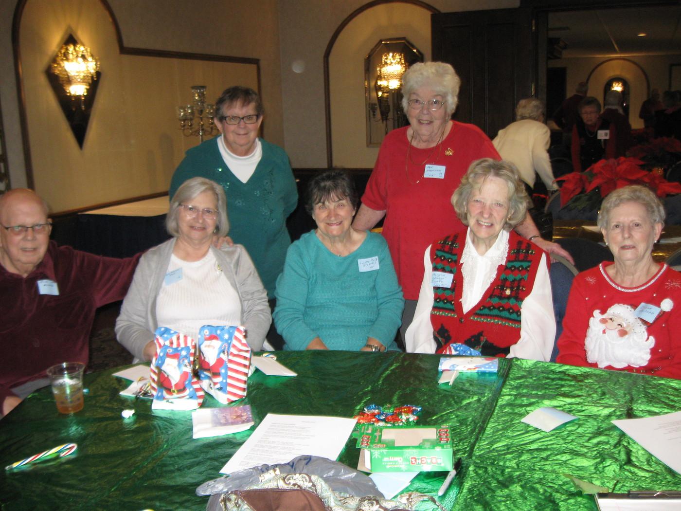 Roger & Anita McFarland, Loretta Marts, Marjorie Ivanko, Donna Heisler, Marylyn Schiller, Pat Schneider