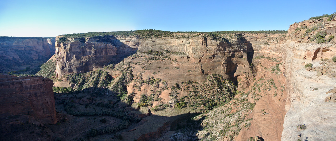 View south from Yucca Cave overlook