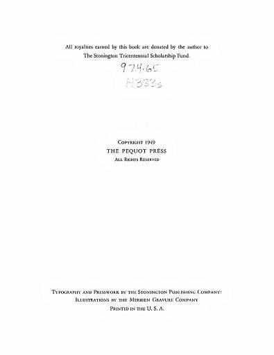 STONINGTON CHRONOLOGY - PAGE 004