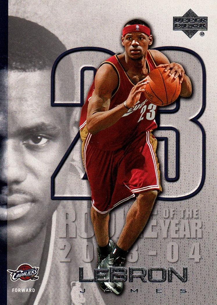 2005-06 Upper Deck LeBron James #LJ09 (1)