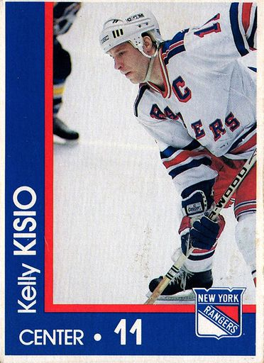 1989-90 Marine Midland New York Rangers #11 (1)