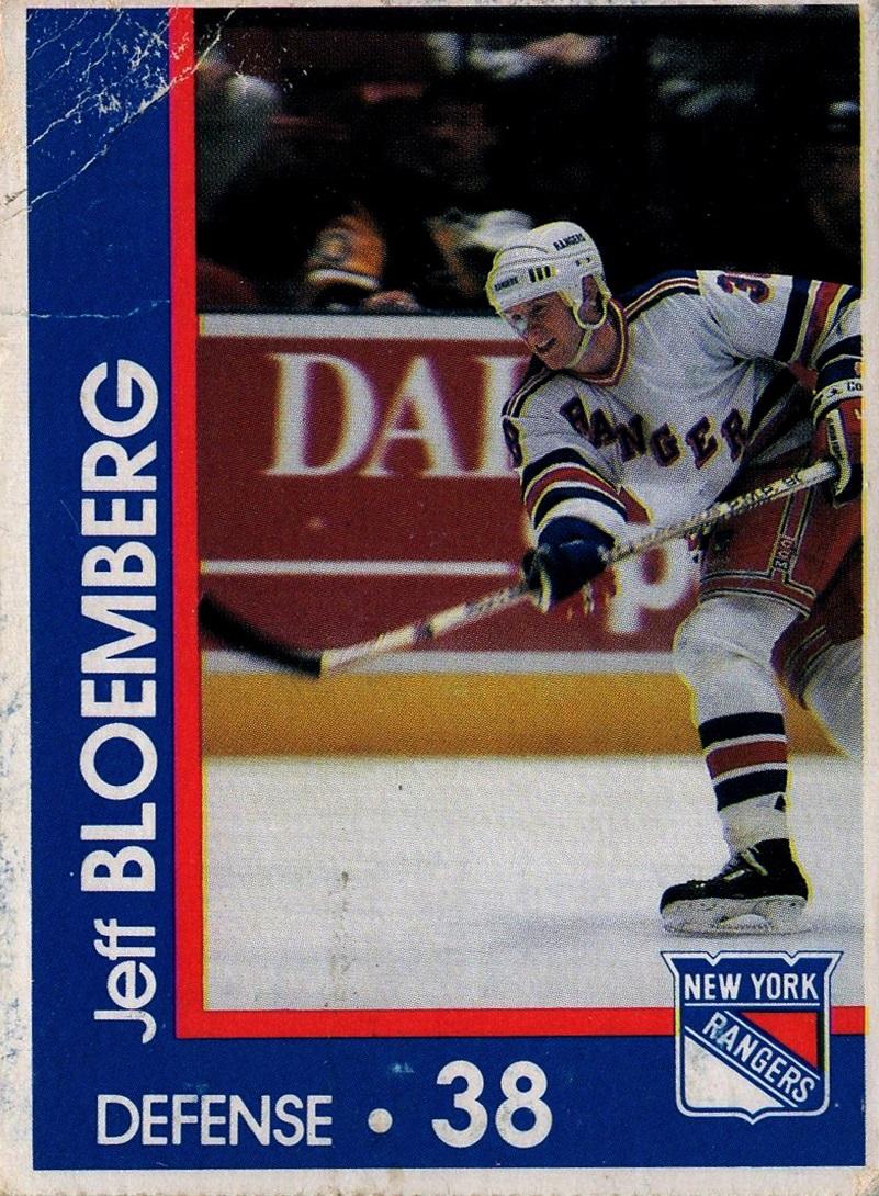1989-90 Marine Midland New York Rangers #38 (1)