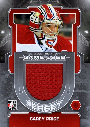 2012-13 In the Game Between the Pipes Game-Used Jersey #M-51 (1)