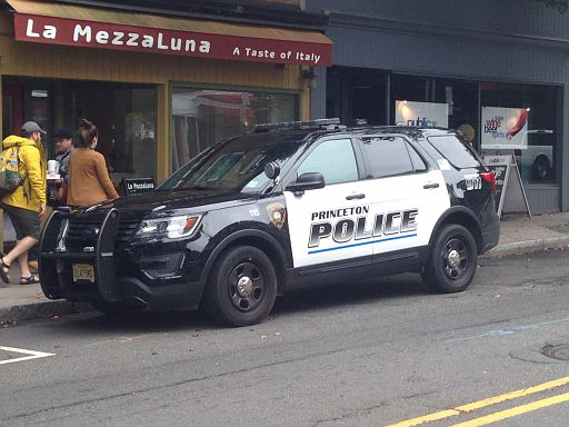 NJ - Princeton Police 2017 Ford Explorer