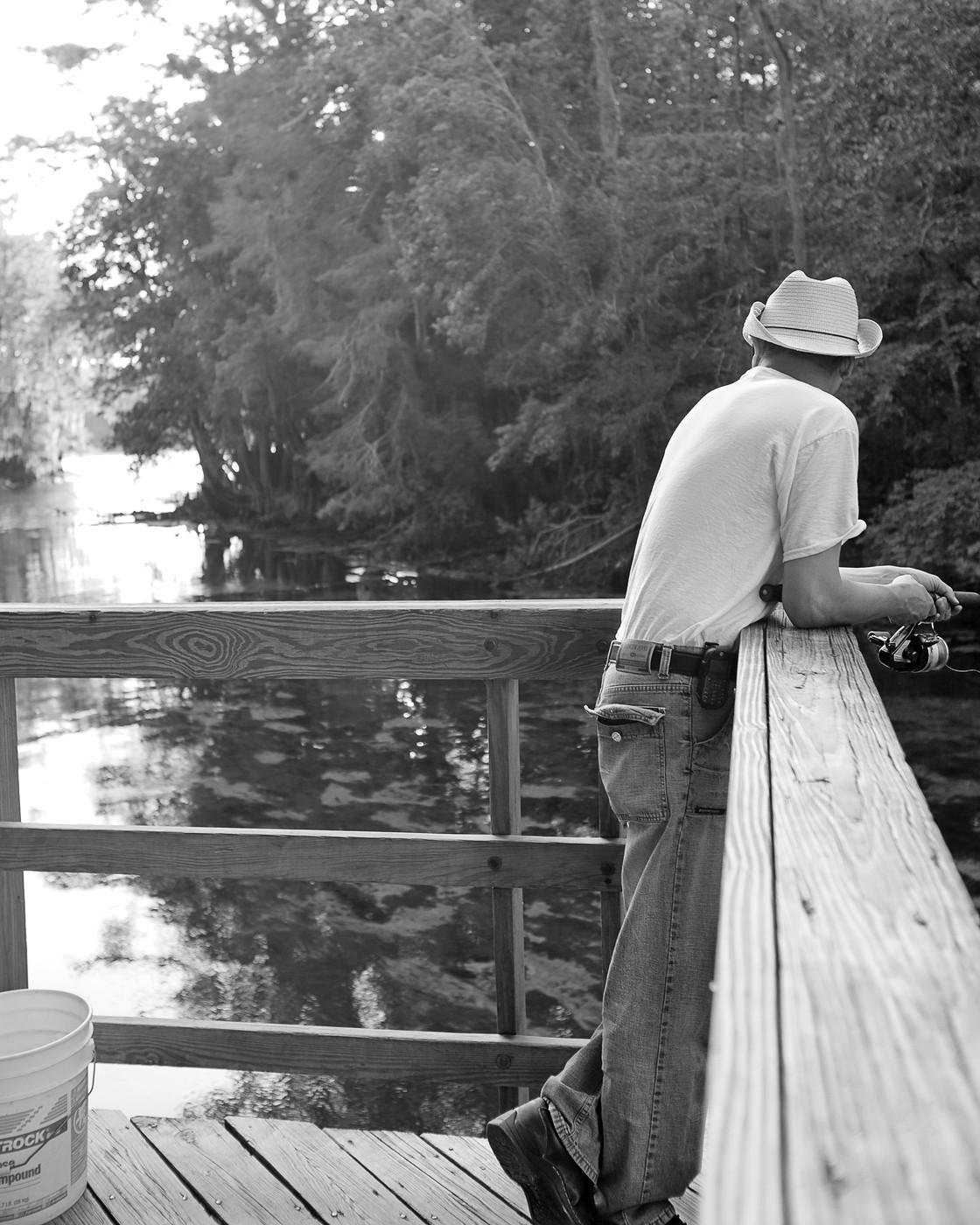 Fisherman on the Suwannee