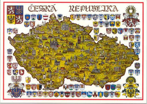 CZECH REP 02 REGIONS FLAGS