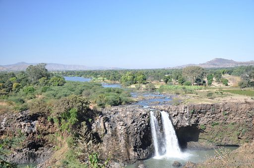 Początek Nilu Błękitnego