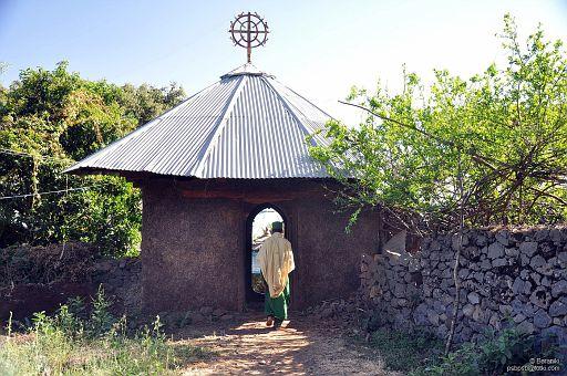 Wejście do klasztoru
