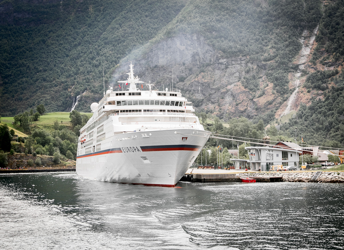 Cruise ship Europa at Flam