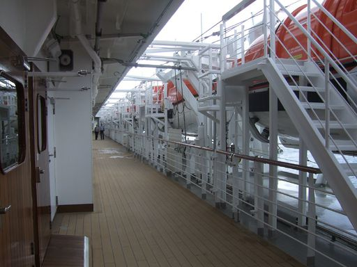 The Boats on the Promenade Deck