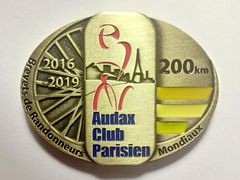 Medaille 200 km