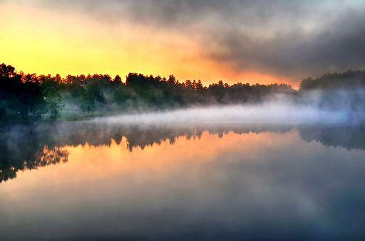 daybreak mists