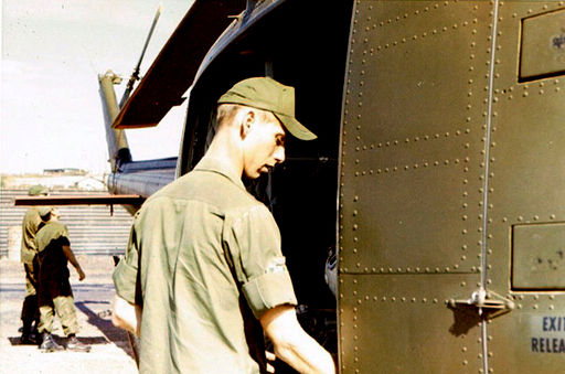 66-Buck, RVN 1970, Checking Ammo