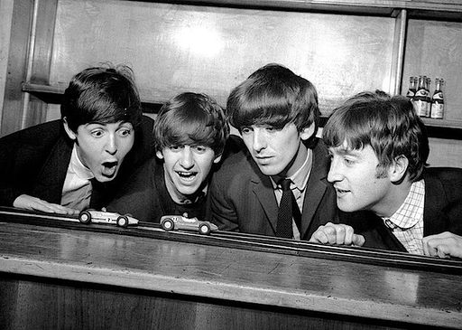 Pop Group The Beatles 1963