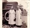 Sally Ann Gilmore Hale Corey & Laura Morgan Gilmore, JUL 1925. Photo courtesy of Marnie Zeigler.
